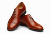 Quarter Brogue Oxford - Chestnut
