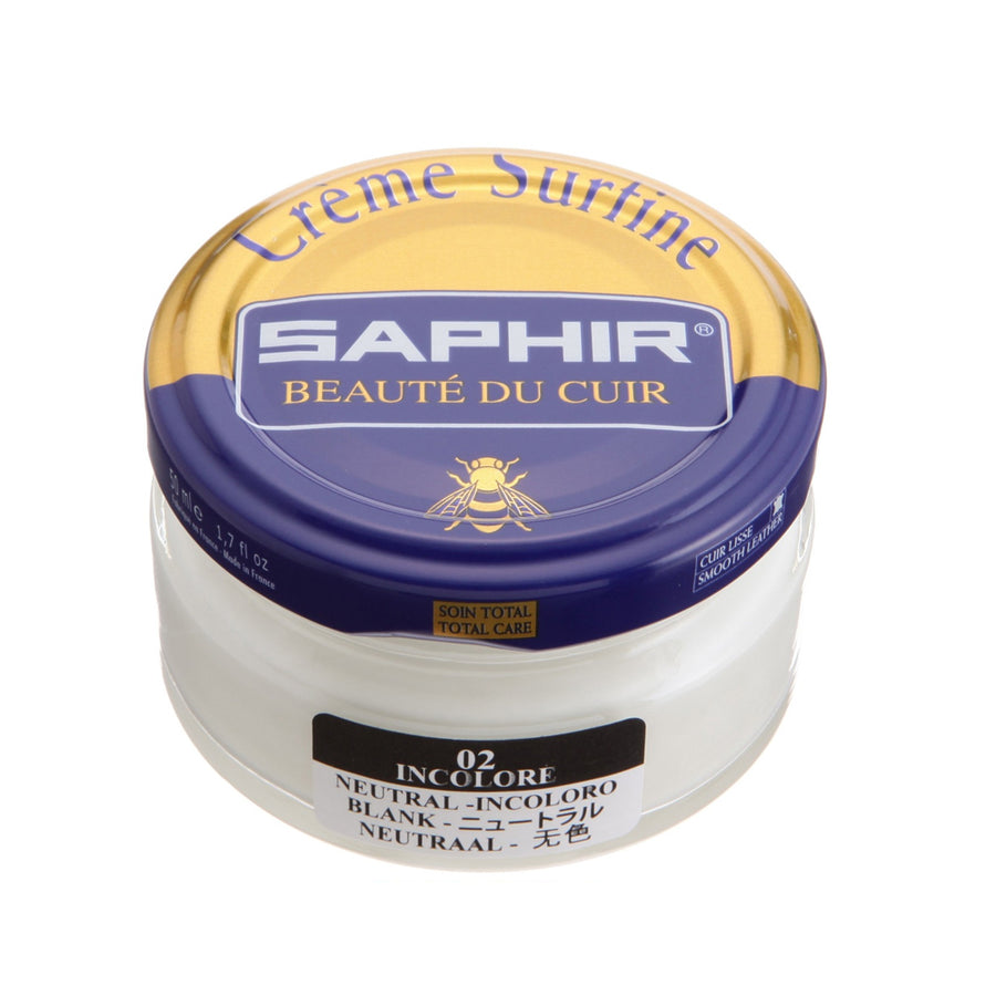 Saphir Beaute Du Cuir Creme Surfine Shoe Polish
