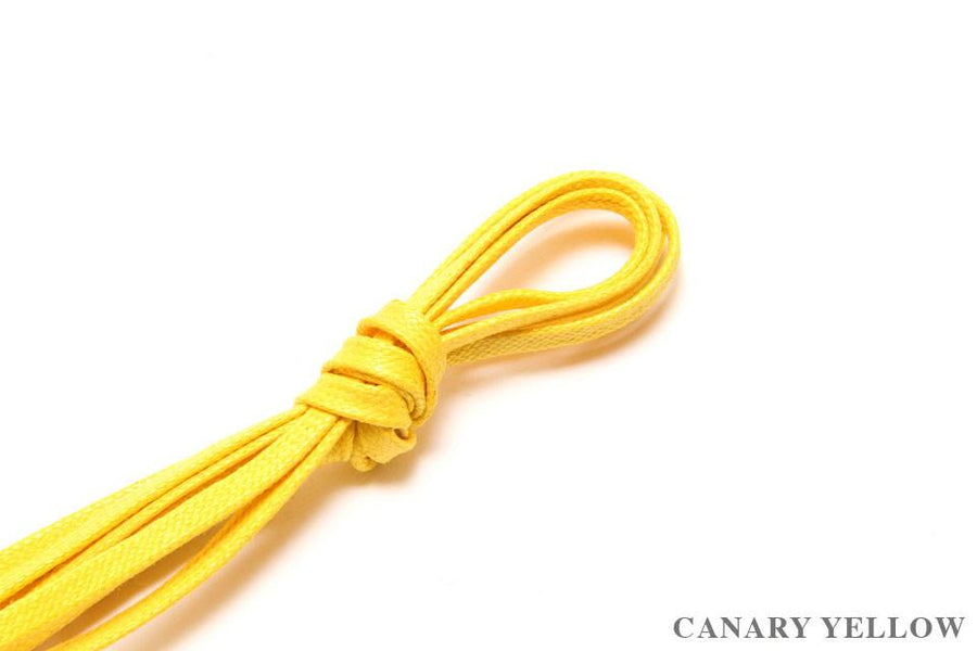 Flat Shoelaces - Canary Yellow