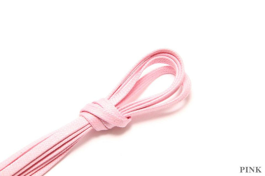 Flat Shoelaces - Pink