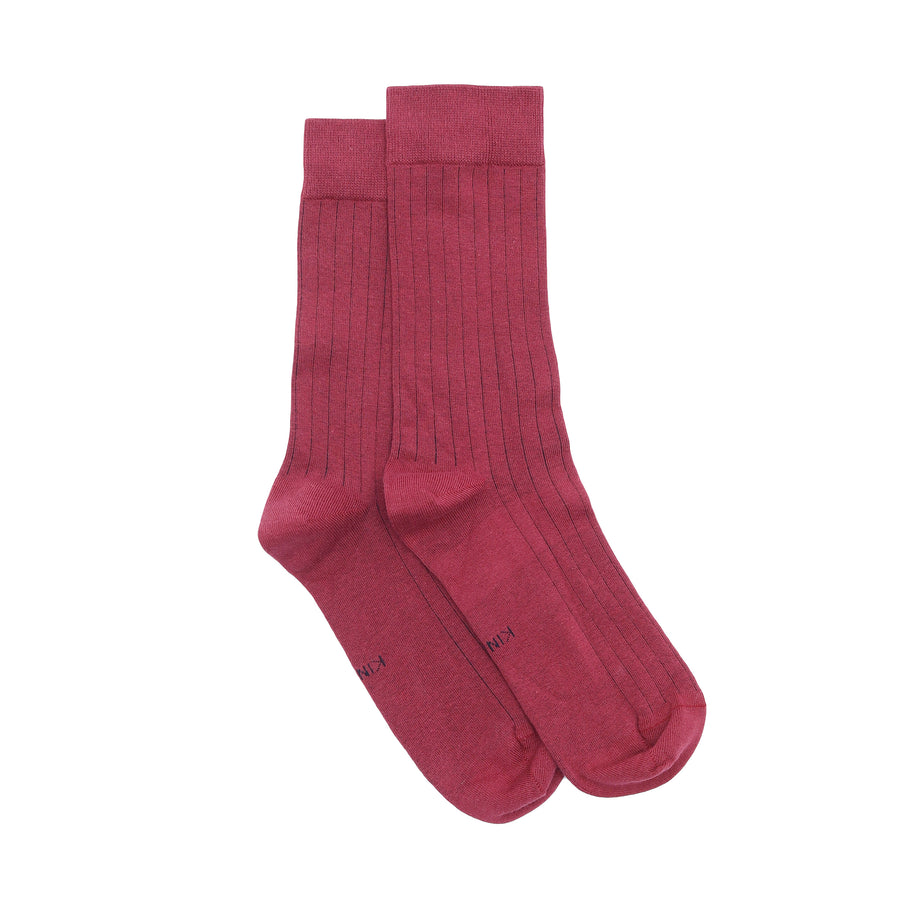Classic Socks - Crimson Red