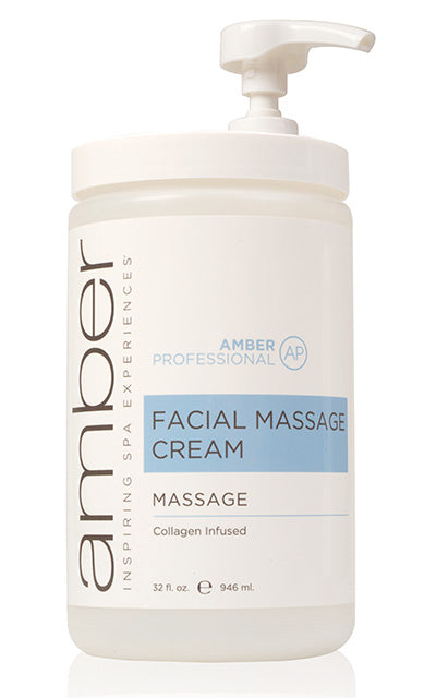Facial Massage Cream with Collagen 32 oz.