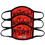 Fowl Language Face Mask 3-Pack