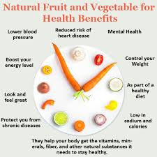 Vegetables health benefits