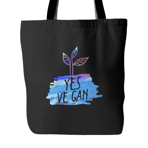 Yes Ve Gan Tote Bag