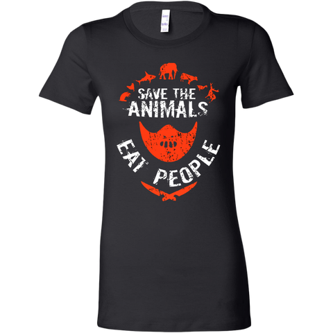 Save the Animals Eat People T-shirt