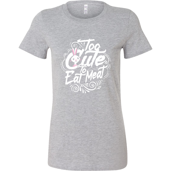 Too Cute to Eat Meat T-shirt