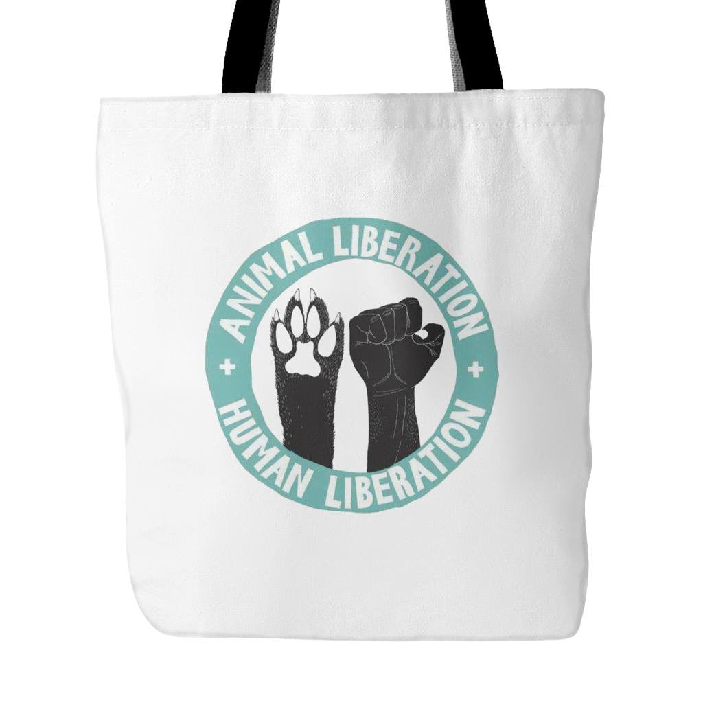 Tote Bags - Animal Liberation Tote Bag