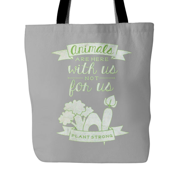 Tote Bags - Animals Are With Us Tote Bag