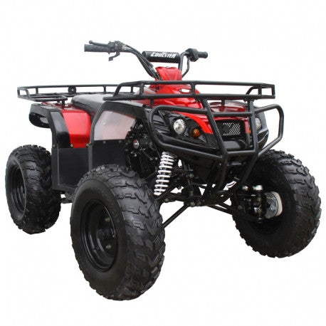 COOLSTER 3125D-2 NEW RED 125CC KIDS ATV SEMI AUTO WITH REVERSE