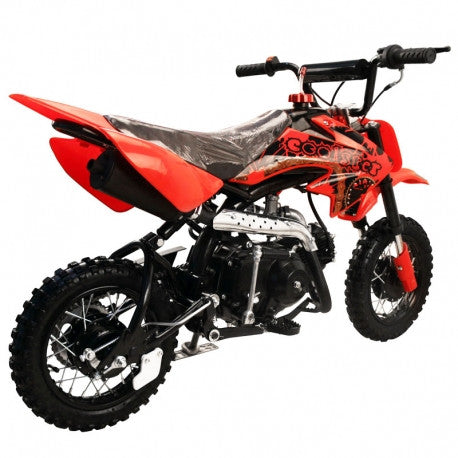 Coolster QG-210 New 70cc Semi Auto Mini Size Kids Gas Dirt Bike