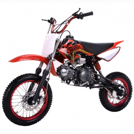 "Coolster QG-214,4 Speed Manual Clutch, Seat Height 31.5"" 125cc Manual Clutch Mini Size Kids Dirt Bike"