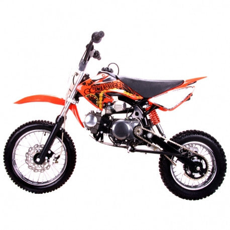 Coolster QG-214S New 125cc Manual Clutch Mini Size Kids Dirt Bike