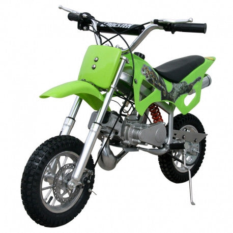 Coolster QG-50 New 50CC Kids Dirt Bike,Fully automatic, Full suspension, Hand Pull Start, Air cooled