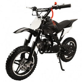 "Coolster QG-50X New 50CC Fully Auto Mini 2-Stroke Pull Start Kids Dirt Bike,Seat Height 22"", 12"" BIG Wheels"