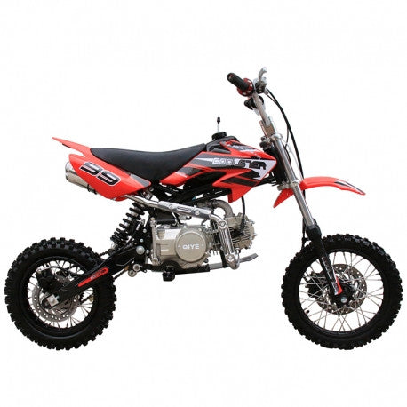 "Coolster XR-125 Manual 125cc Dirt Bike,Manual Clutch, Lifan Engine, Front/Rear 14""/12"" Wheels"