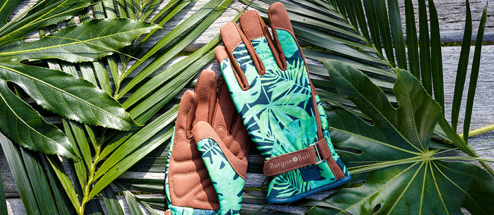 A taste of the tropics: a new design for Burgon & Ball's 'Love the Glove'
