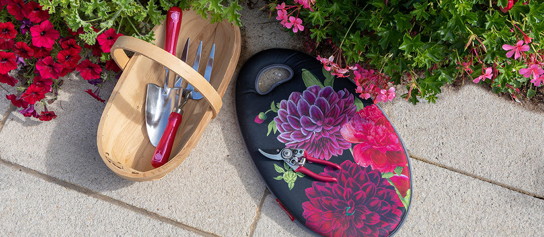 British Bloom: a new 'RHS Gifts for Gardeners' collection from Burgon & Ball