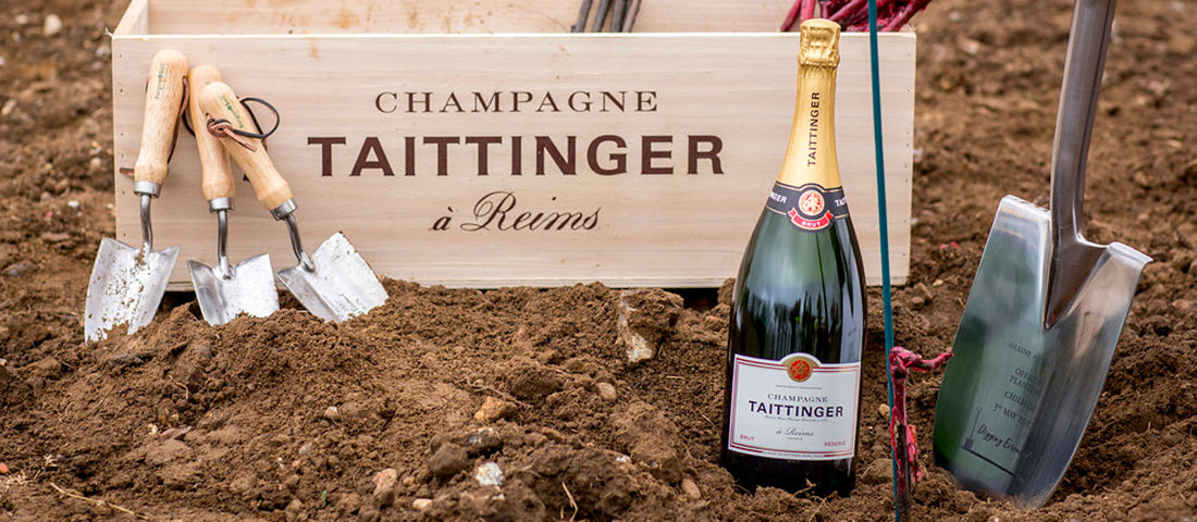 A Champagne occasion: Champagne Taittinger selects Burgon & Ball Groundbreaker spades