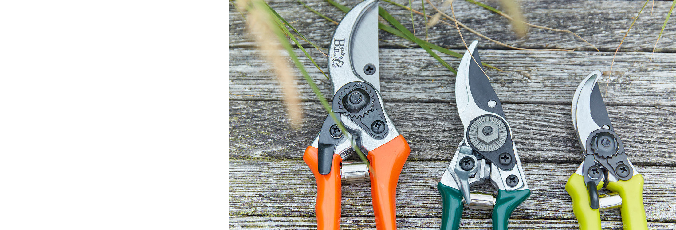 Garden Secateurs & Pruning Tools