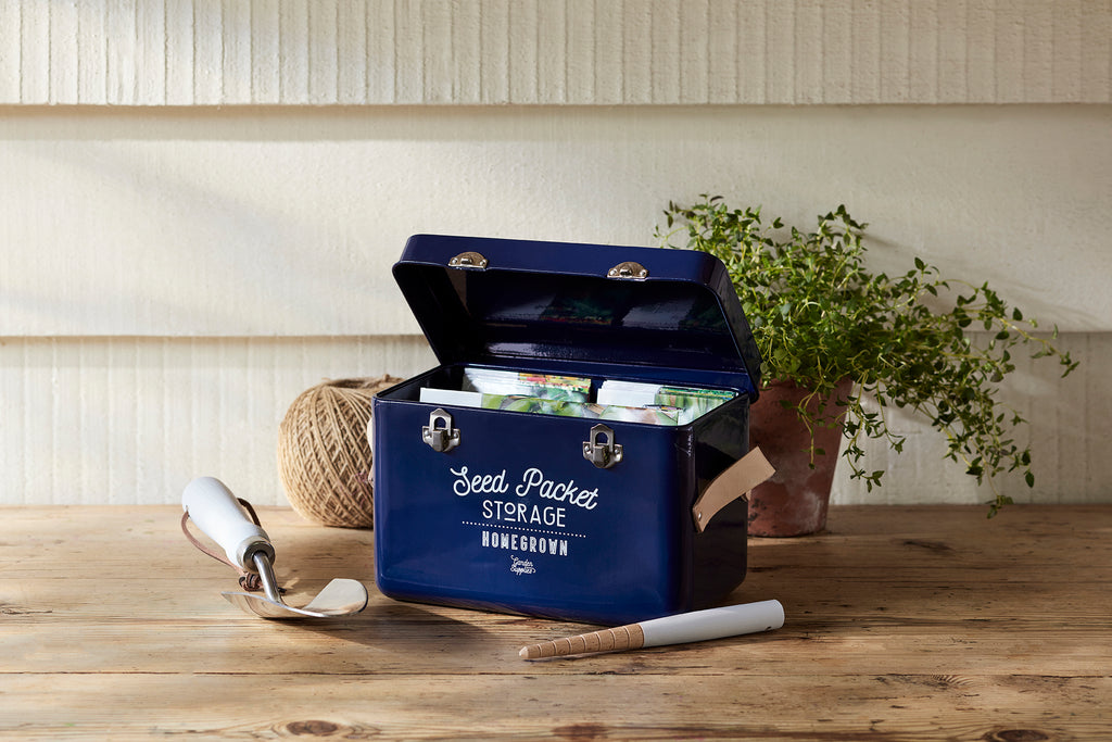 Seed Packet Storage Tin, RRP £22.99