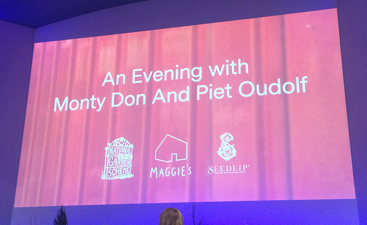 A grand evening out, with Piet and Monty