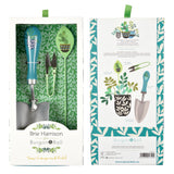 Brie Harrison for Burgon & Ball trowel, plant label and snips gift set