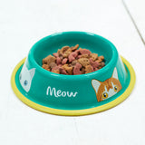 """Doris"" Cat Bowl"