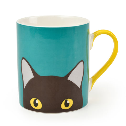 """Doris"" Cat Mug"