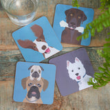 """The Rabble"" Dog Coasters"