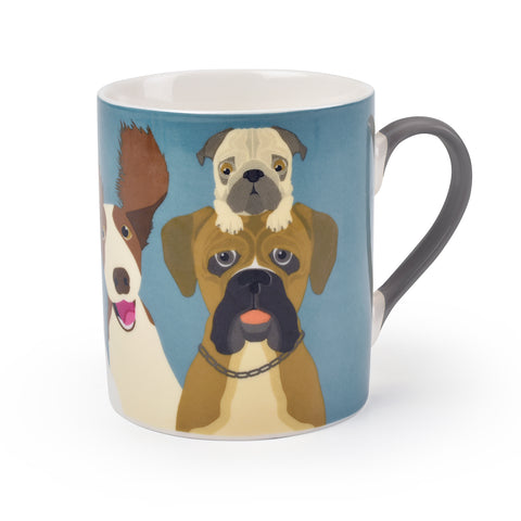 """The Rabble"" Dog Mug"