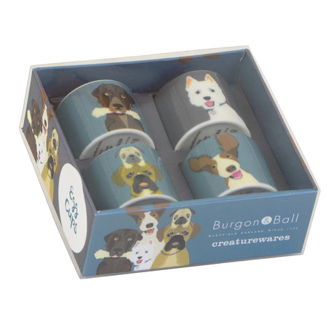 Quot The Rabble Quot Dog Egg Cups Burgon Amp Ball Burgon And Ball