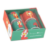 'Plucky' chicken egg cups by Burgon & Ball