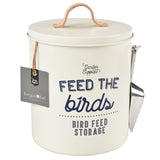 'Feed the Birds' Bird Food Tin - Stone