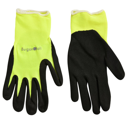 FloraBrite® Yellow Garden Gloves