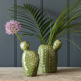 Small cactus vase by Burgon & Ball