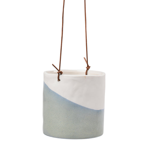 'Dip' hanging plant pot by Burgon & Ball, indoor plant pot
