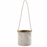 Modena hanging indoor plant pot by Burgon & Ball, indoor plant pot
