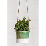 'Pie Crust' Hanging Pot