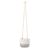 'Ripple' hanging indoor plant pot by Burgon & Ball