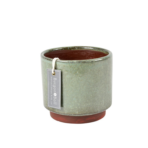 Malibu indoor pot - green, by Burgon & Ball