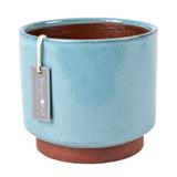 Malibu indoor pot, blue, extra large, by Burgon & Ball
