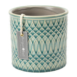 Morocco indoor plant pot by Burgon & Ball - celadon