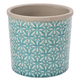 Tuscany Glazed Pot - Blue