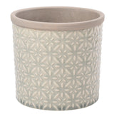 Tuscany Glazed Pot - Grey