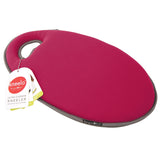 Kneelo® memory foam garden kneeler in 'Berry' colour by Burgon & Ball