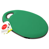 Kneelo® memory foam garden kneeler in 'Emerald' colour by Burgon & Ball