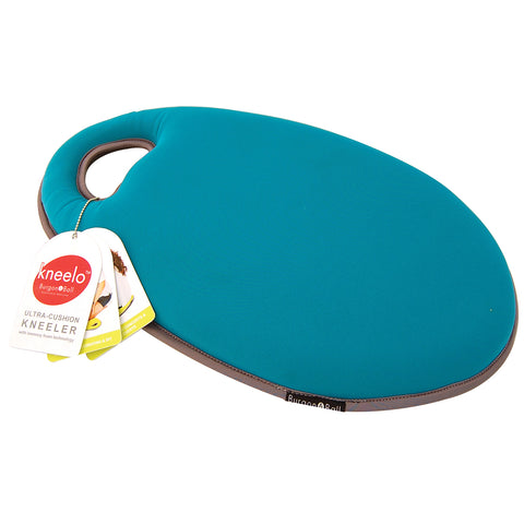 Kneelo® memory foam garden kneeler in 'Eucalyptus' colour by Burgon & Ball
