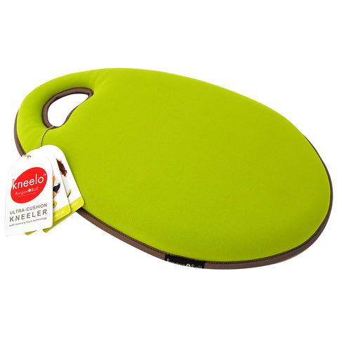 Kneelo® memory foam garden kneeler in 'Gooseberry' colour by Burgon & Ball
