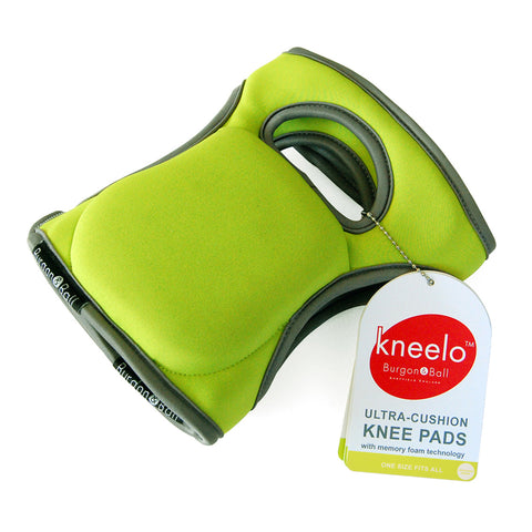 Burgon & Ball Kneelo® gardening knee pads in Gooseberry, memory foam knee pads